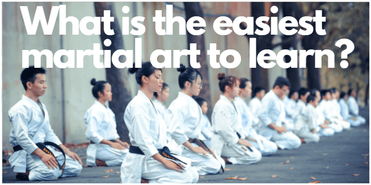 easiest martial art to learn