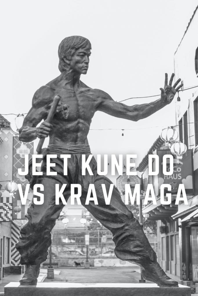 Jeet Kune Do vs Krav Maga