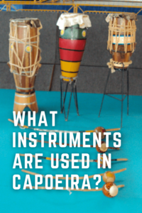 What instruments are used in capoeira